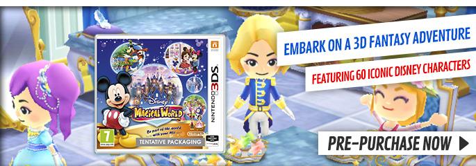 Disney Magical World for Nintendo eShop - Downloads at GAME.co.uk!