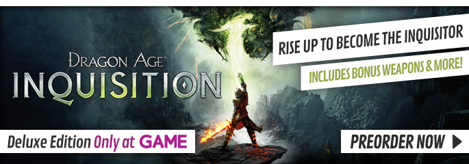 Dragon Age: Inquisition Deluxe Edition for Xbox 360 - Preorder Now at GAME.co.uk!