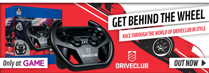 Driveclub Racing Wheel - Preorder Now at GAME.co.uk!