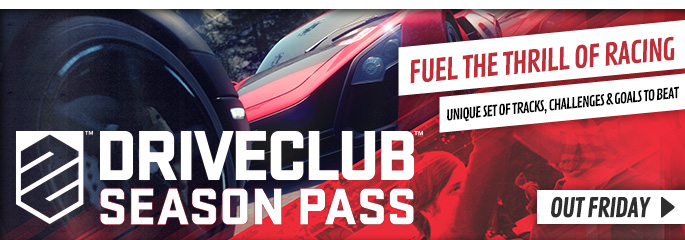 Driveclub Season Pass for PlayStation Network - Downloads at GAME.co.uk!