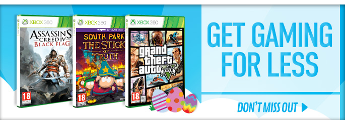 Get Gaming For Less on XBox 360 - Buy Now at GAME.co.uk!