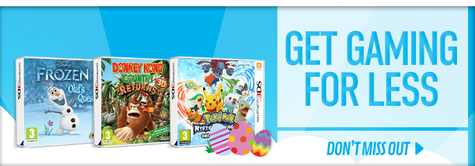 Get Gaming for Less for Nintendo 3DS - Buy Now at GAME.co.uk!
