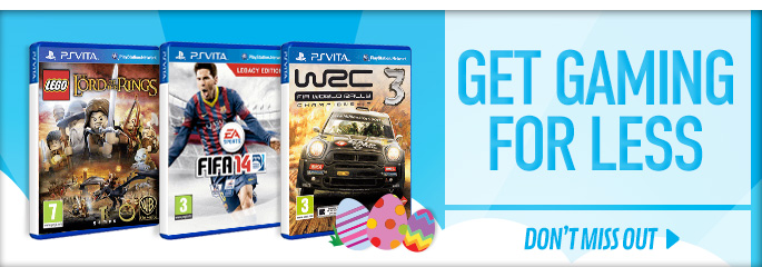 Gaming for Less for PlayStation Vita - Buy Now at GAME.co.uk!