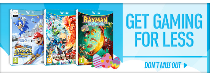 Get Gaming for Less for Nintendo WiiU - Buy Now at GAME.co.uk!