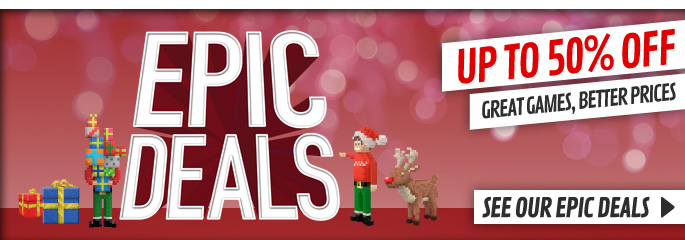 Epic Deals Up To 50% Off for Wii - Save More Now at GAME.co.uk!