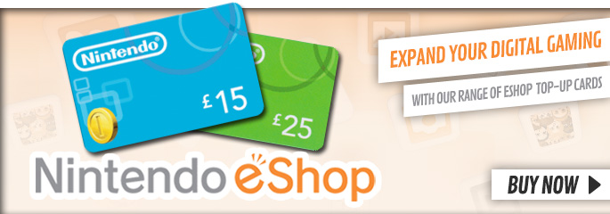 eShop Cards for Nintendo eShop - Buy Now at GAME.co.uk!