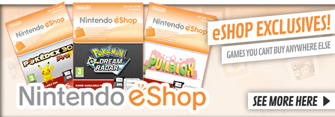 eShop Exclusives - Download Now at GAME.co.uk!