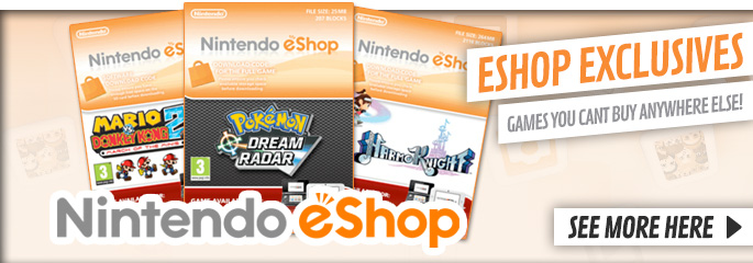 eShop Exclusives from Nintendo eShop - Download Now at GAME.co.uk!