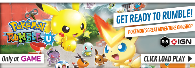 Pokemon Rumble U - Download Now at GAME.co.uk!