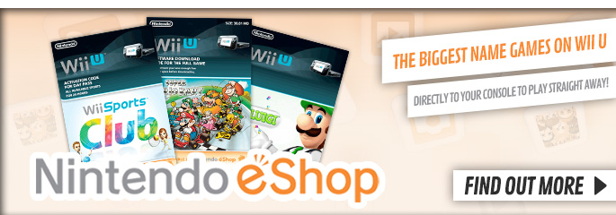 Nintendo eShop for WiiU - Find Out More at GAME.co.uk!