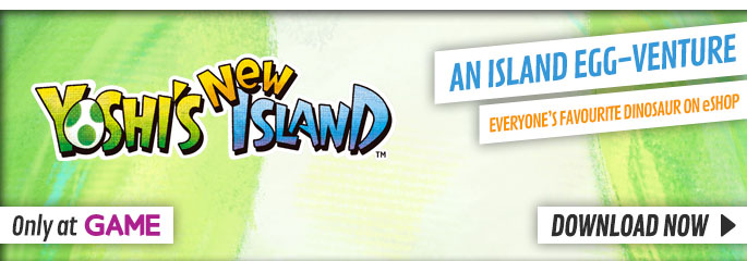 Yoshis New Island - Download Now at GAME.co.uk!