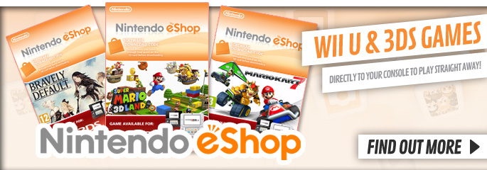 Nintendo eShop - Find Out More at GAME.co.uk!
