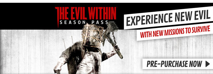 The Evil Within Season Pass for PlayStation Network - Downloads at GAME.co.uk!