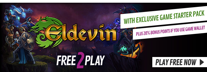 Eldevin for Free 2 Play - Now at GAME.co.uk