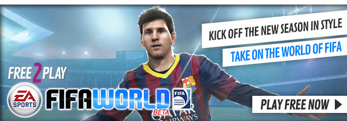 FIFA World for Free 2 Play - Play Free Now Now at GAME.co.uk!