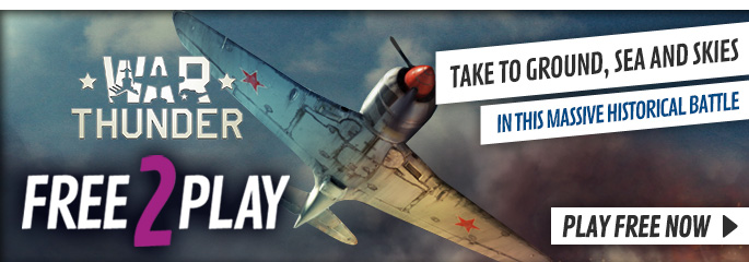 War Thunder for Free 2 Play - xx Now at GAME.co.uk!