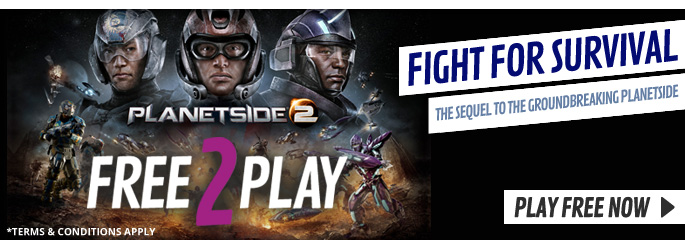Planetside 2 for Free 2 Play -  at GAME.co.uk!