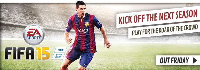 FIFA 15 Exclusive Announcement for Xbox 360 - Preorder Now at GAME.co.uk!