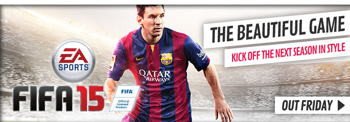 FIFA 15 for Nintendo Wii - Preorder Now at GAME.co.uk!