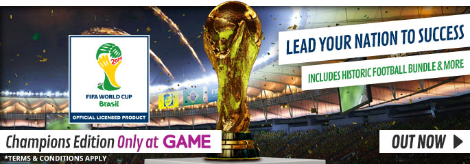 FIFA World Cup Brazil for Xbox 360 - Buy Now at GAME.co.uk