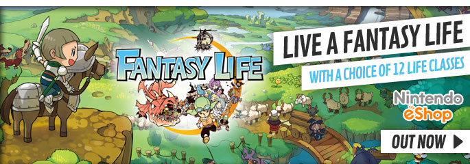 Fantasy Life for Nintendo 3DS - Out Now at GAME.co.uk!