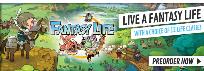 Fantasy Life for Nintendo 3DS - Preorder Now at GAME.co.uk!