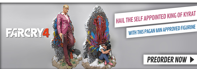 Far Cry 4 Pagan Min: King of Kyrat Figurine - Preorder Now at GAME.co.uk!