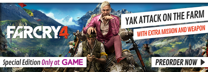 Far Cry 4 Special Edition for Xbox 360 - Only at GAME, Preorder Now at GAME.co.uk!