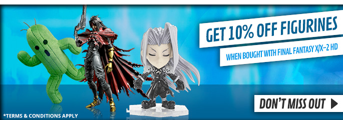 10% Off Final Fantasy Figures - Buy Now at GAME.co.uk!