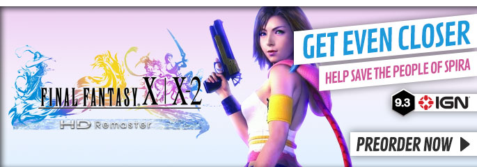 Final Fantasy X/ X-2D Remaster for PlayStation Vita - Preorder Now at GAME.co.uk!