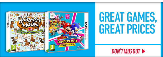 Great Games Great Prices for Nintendo 3DS - Save Now at GAME.co.uk!