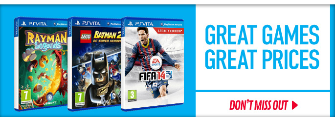 Great Games Great Prices for PlayStation Vita - Save Now at GAME.co.uk!