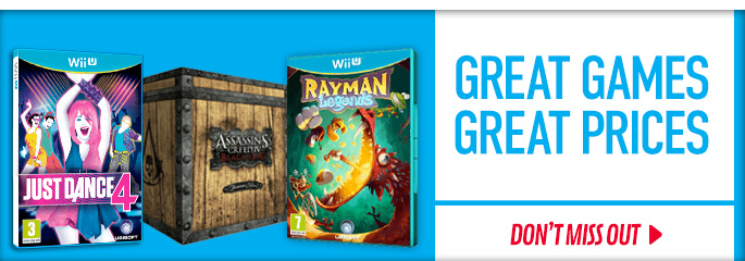 Great Games Great Prices for Nintendo WiiU - Save Now at GAME.co.uk!
