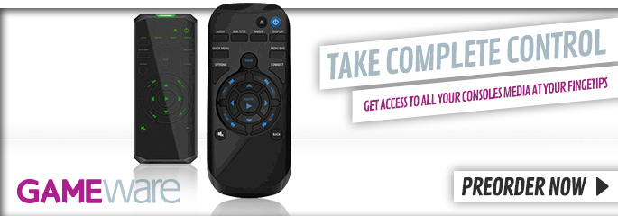 GAMEware Media Remote for Xbox One and PlayStation 4 - Preorder Now at GAME.co.uk!