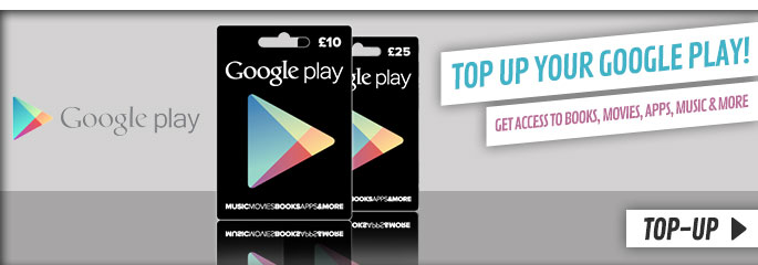 Google Play Cards - Preorder Now at GAME.co.uk!