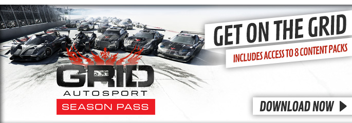 GRID Season Pass for PlayStation Network - Downloads at GAME.co.uk!