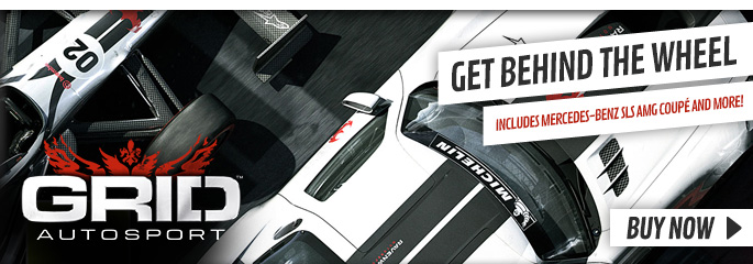 Grid Autosport for PC - Preorder Now at GAME.co.uk!