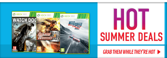 Hot Summer Deals on Xbox 360 - Buy Now at GAME.co.uk!