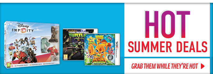 Hot Summer Deals for Nintendo 3DS - Buy Now at GAME.co.uk!