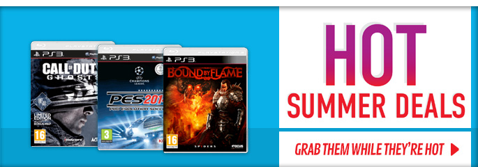 Hot Summer Deals for PlayStation 3  - Buy Now at GAME.co.uk!