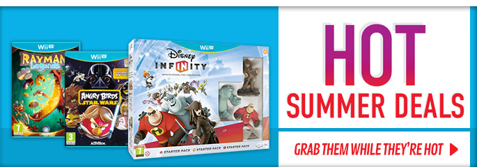 Hot Summer Deals for Nintendo WiiU - Buy Now at GAME.co.uk!