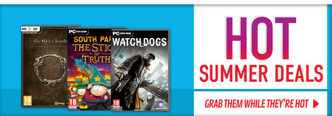 Hot Summer Deals for PC - Buy Now at GAME.co.uk!