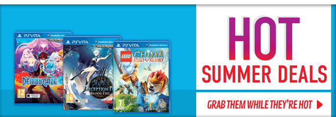 Hot Summer Deals for PlayStation Vita - Buy Now at GAME.co.uk!