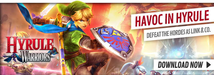 Hyrule Warriors for Nintendo eShop - Download Now at GAME.co.uk!