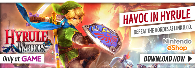 Hyrule Warriors for Nintendo Wii U - Preorder Now at GAME.co.uk!