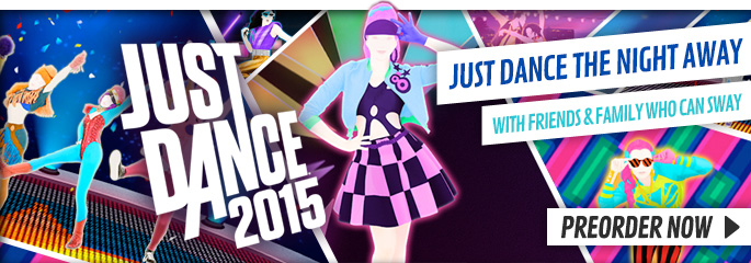 Just Dance 2015 for Nintendo Wii - Preorder Now at GAME.co.uk!
