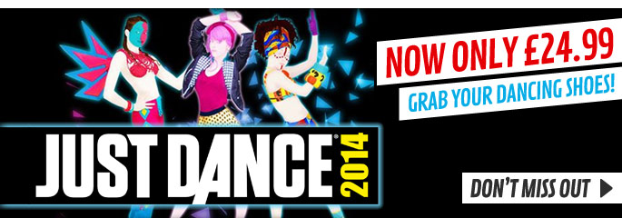 Just Dance 2014  Limited time Deal for PlayStation 3  - Buy Now at GAME.co.uk!