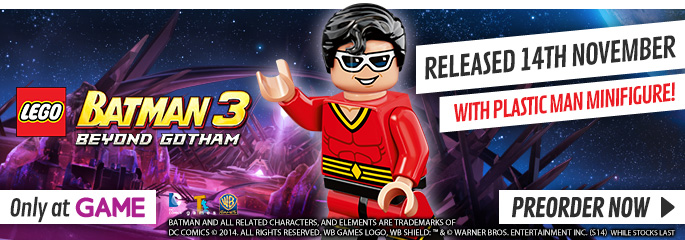 LEGO Batman 3 Exclusive for PlayStation Vita - Preorder Now at GAME.co.uk!