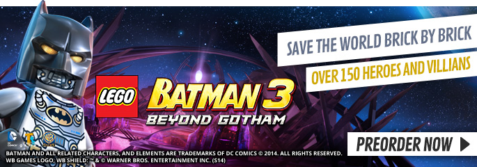 LEGO Batman 3 for PlayStation Vita - Preorder Now at GAME.co.uk!
