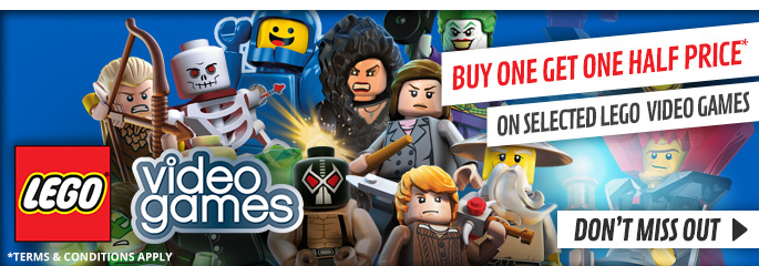 LEGO Buy One Get one Half Price for PlayStation Vita - Buy Now at GAME.co.uk!